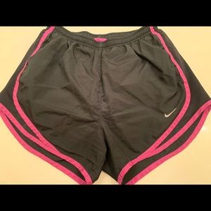Nike Running shorts with liner, size small